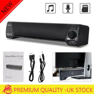 TV Sound Bar Home Theater Subwoofer Soundbar and Bluetooth Wireless / Wired UK