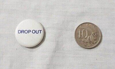 Vintage Novelty Button Badge / Pin