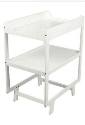 Urban CHANGE TABLE Timber Wooden ,2 tiers white