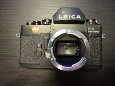 Leitz Leica R3 Electronic Camera Body Only Black