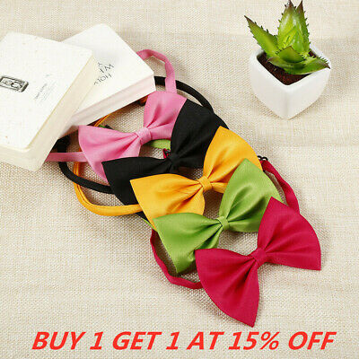 Wholesale Pet Dog Puppy Necktie Bow Tie Ties Collar Grooming Out Lot 50 Pcs