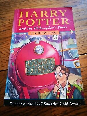 Harry Potter and the Philosopher's Stone FIRST EDITION book J.K.Rowling PB 1st