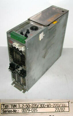 Indramat TVM 1.2-50-220/300-W1-220/380 TVM1.2-50-220/300-W1-220/380 -used-
