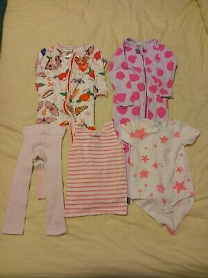 Baby Girls Bonds Clothes Size 1 (12-18 Months)