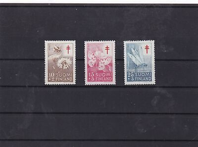 finland 1954  tuberculosis mnh  stamps set ref 7413