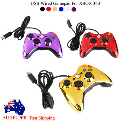 Microsoft XBOX360 USB Wired Game Controller Console Gamepad Joypad Joystick