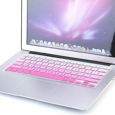 "PINK Keyboard Cover Case Silicone Protector For MacBook Air/Pro 13"" Touchbar"