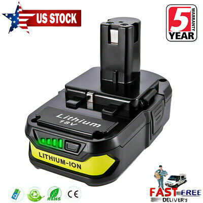 NEW For Ryobi ONE+ P102 18V 2.5Ah Lithium Battery P104 P105 P107 P106 P108 Drill