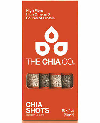 The Chia Company Chia Shots - 10 Pack - Case of 8 - 2.8 oz