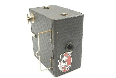 Ensign Mickey Mouse Box Camera, Uncommon, Good Condition, Very Good Sticker