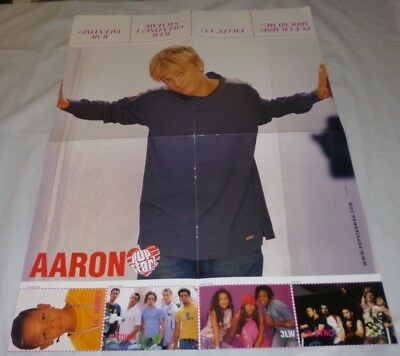 Aaron Carter Teen Magazine Poster 2002/2003 Another Earthquake! Young Cute Smile