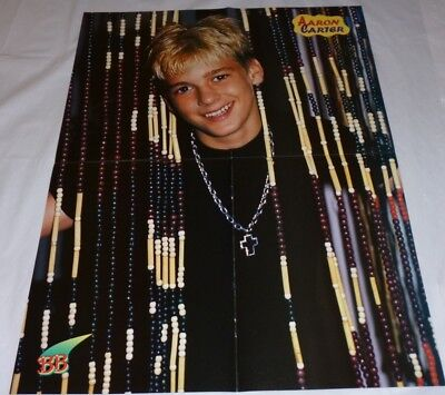 Aaron Carter Teen Magazine Poster 2000 Aaron's Party Young Bb Boy Cute Smile