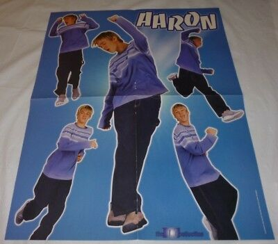 Aaron Carter Teen Magazine Poster 2002/2003 Another Earthquake! Young M Mag