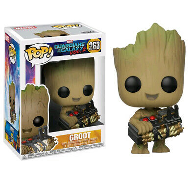 Guardians of the Galaxy Vol. 2 Groot with Bomb Exclusive Pop! Vinyl Figure 263