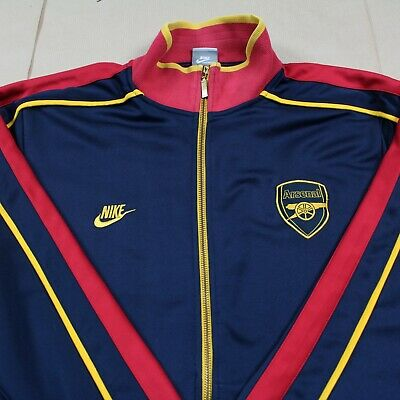 Arsenal 2008 2009 Training Tracksuit Jacket RARE Shirt EXCELLENT Condition (XL)