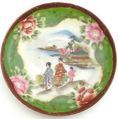 Late Meiji / Early Taisho Japanese Fine Porcelain Saucer or Trinket Dish