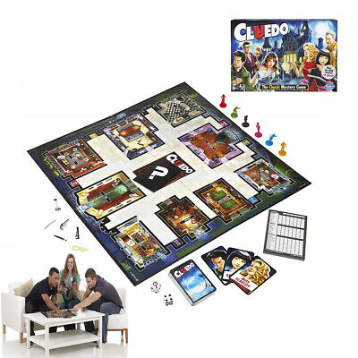 2019 NEW Cluedo The Classic Mystery Board Game