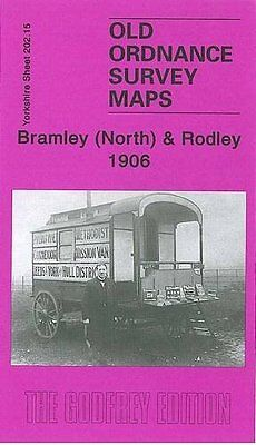 Old Ordnance Survey Map Bramley North & Rodley 1906