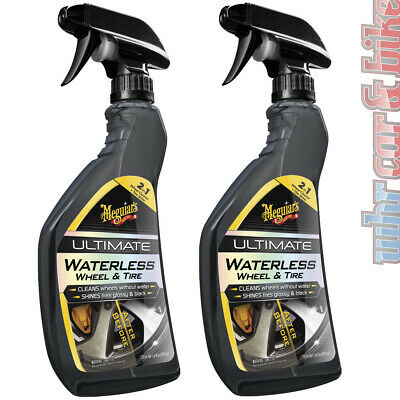 2x Meguiars Ultimate Waterless Wheel & Tire Spray Felgenreiniger & Reifenglanz