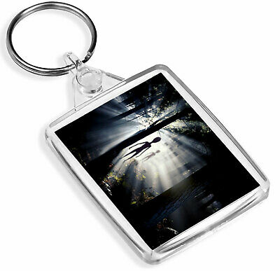 Alien Encounter Keyring - IP02 - UFO Space Extraterrestrial Awesome Gift #2032