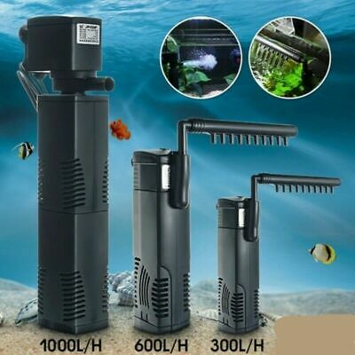 Internal Fish Tank Aquarium Filter Submersible with Spray Bar Included UK D4W3K