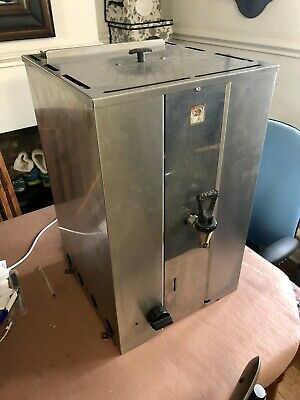 Parry 25 Litre Square LPG Catering Water Boiler (FIRE DAMAGED)