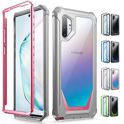Galaxy Note 10 Plus Case Poetic [Guardian] Support Wireless Charging Cover