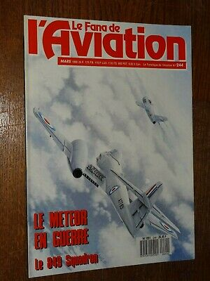 Le Fana De L'aviation N°244 - Mars 1990