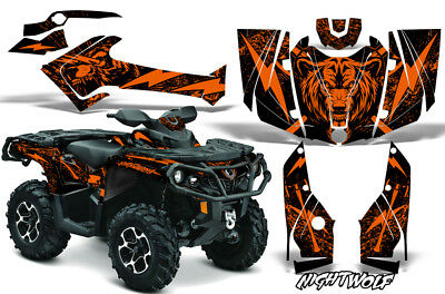 Can-Am Outlander 500/650/800R/1000 G2 Grafik Set Atv Decal Wrap 2012-2016