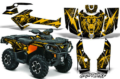Can-Am Outlander 500/650/800R/1000 G2 Grafik Set Atv Decal Wrap 2012-2016 NW