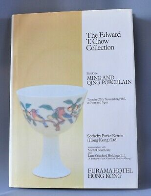 The Edward T Chow Collection 3 Hard Back books- Sothebys