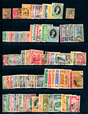 British Colonies : Caribbean (1862-1958) mint hinged & used collection # TM288