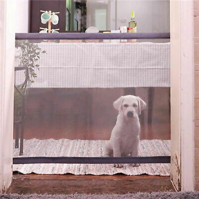 Mesh Pet Gate Door Barrier Safe Net Guard Fence Enclosure 180*72cm Q1J3F