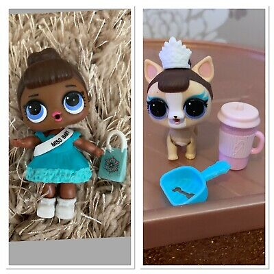 lol surprise doll Series 1 Miss Baby And Miss Puppy Bundle.