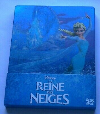 la reine des neiges blu ray Steelbook 2D 3D