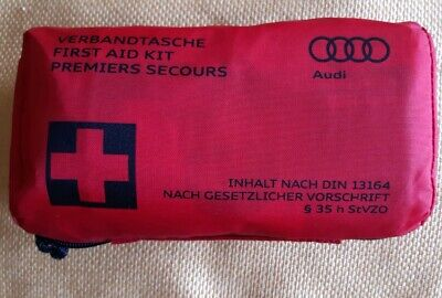 Genuine OEM AUDI First Aid Kit 8F0 860 282D A and Q series Exp May 24