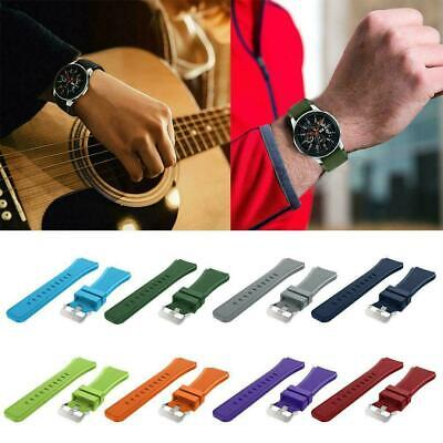 22mm Various Color Soft Silicon Watch Band Strap Rugged Replacement hot sell