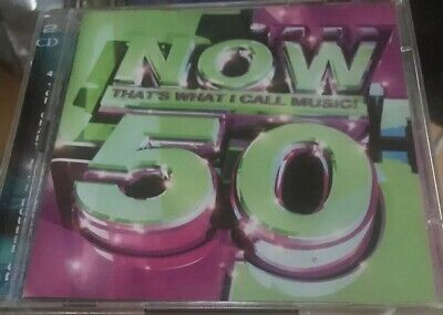 Various Artists - Now That's What I Call Music Vol.50 (2001) 2 Discs Good Cond