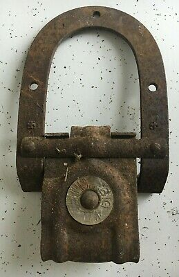 Antique Cast Iron Barn Door Roller Hardware Farm Pulley