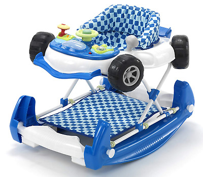 My Child Car Walker Baby Activity Toy Boys Rocker Tray My First Walking Steps