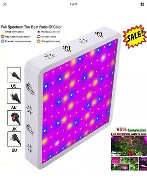 VIPARSPECTRA 600W LED Grow Lights 12 Band Full Spectrum with