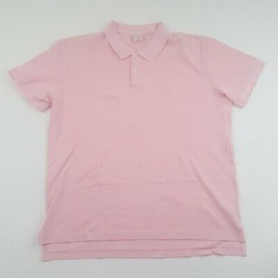 Mens Brooks Brothers Solid Polo Sz XXL - Solid -  Pink - Great Condition
