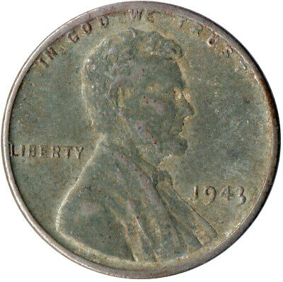 Usa / 1943 Steel Wheat Penny / War Penny / Lincoln / Collectible  #Wt4408