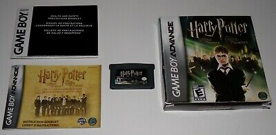 Harry Potter and the Order of the Phoenix (Nintendo Game Boy Advance, 2007) CIB
