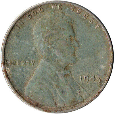 Usa / 1943 Steel Wheat Penny / War Penny / Lincoln / Collectible  #Wt4426
