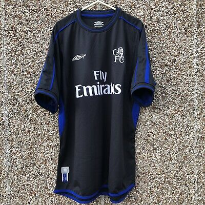 Chelsea FC 2002 2003 Away Football Shirt Adult Large Excellent Condition - L
