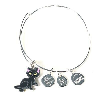 Mickey's Not So Scary Halloween Party 2019 Alex and Ani Black Cat Bracelet