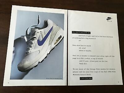 Vintage Nike Air Sneakers Advertising Print Ad Poster 8x10You Pick
