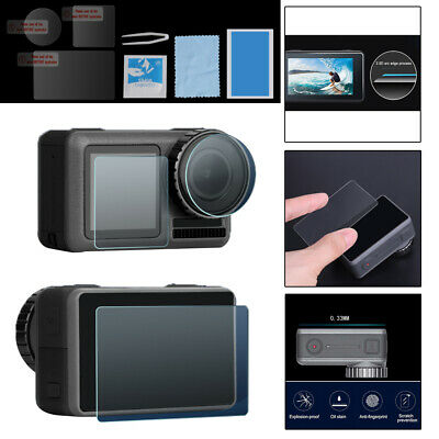 Tempered Glass Film Camera LCD/Front/Rear Screen Protecting For DJI OSMO Action
