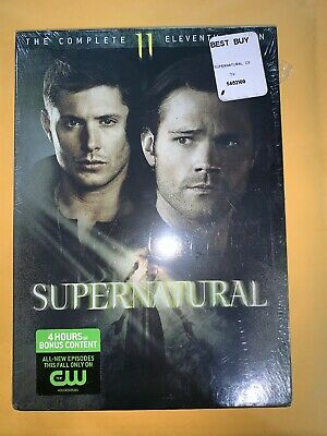 SUPERNATURAL TV SERIES THE COMPLETE ELEVENTH SEASON 11 New Sealed DVD
